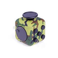 FidgetCube - 6 сторон зеленый камуфляж - 901-13, фото 3