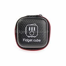 FidgetCube - чехол черн-красный на застежке ТОП качество 901-20, фото 2