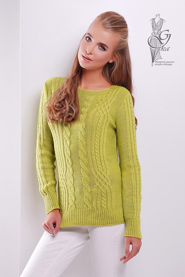 Фото Женского свитера из шерсти и акрила Адель-7