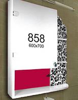 Шкафчик для ванной комнаты 600х700 мм ШК858