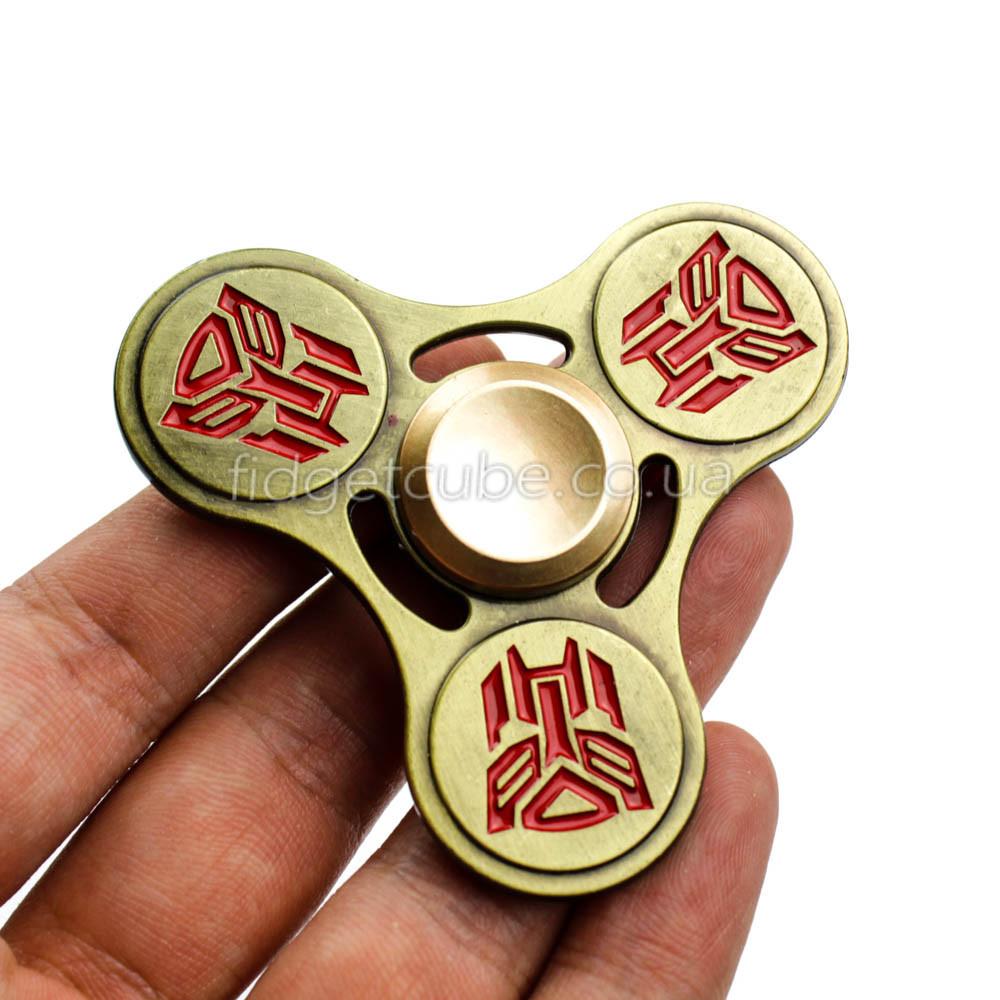 Spinner Трансформеры красный цвет ТОП 9907