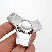 Спиннер 3 грани  в подарочной коробке - светло серый 9601-5