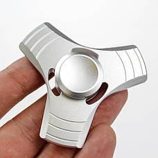 Спиннер 3 грани  в подарочной коробке - светло серый 9601-5, фото 3