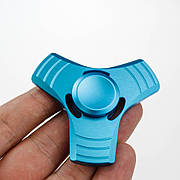 Спиннер 3 грани  в подарочной коробке - синий 9601-3
