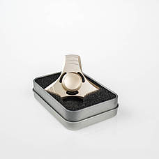 Спиннер 3 грани  в подарочной коробке - золотой 9601-6, фото 3