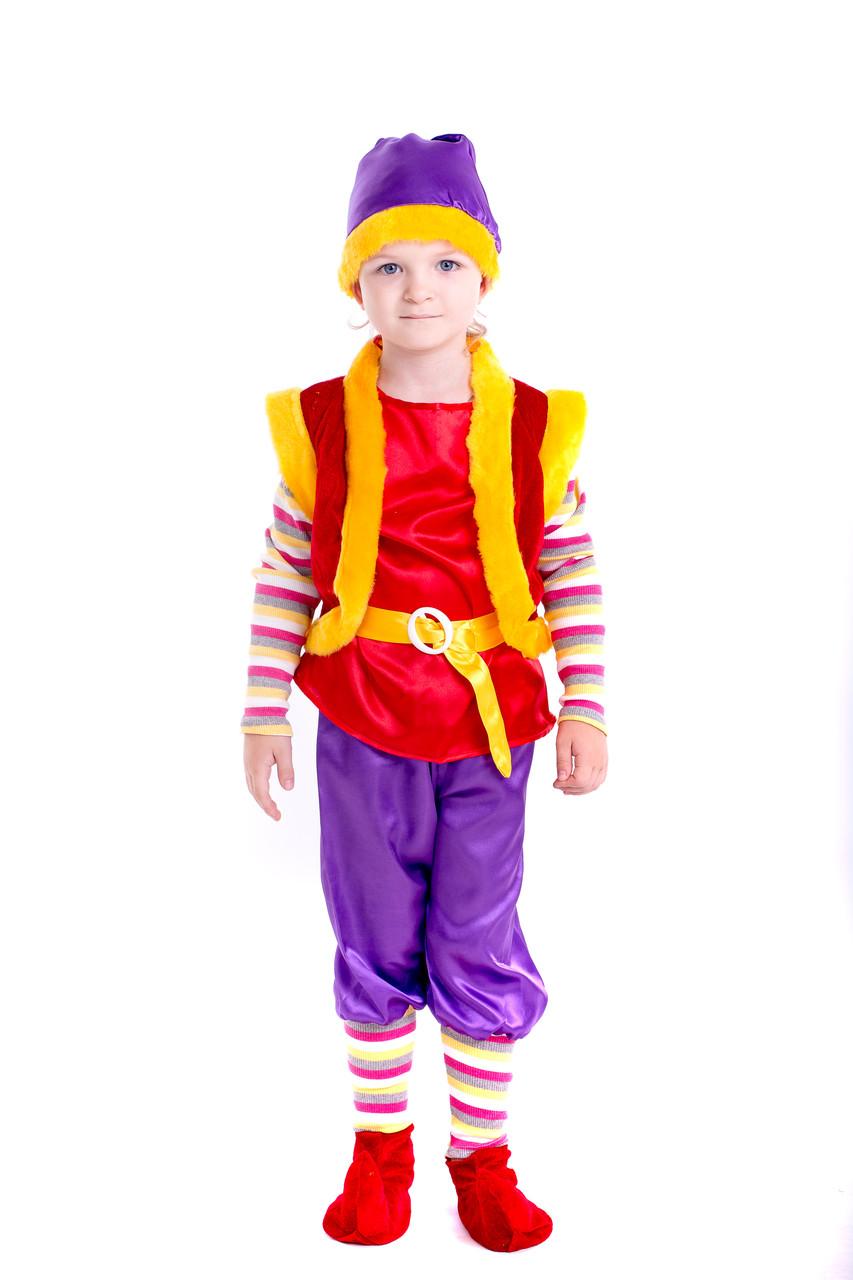 Детский новогодний костюм Лесного гнома
