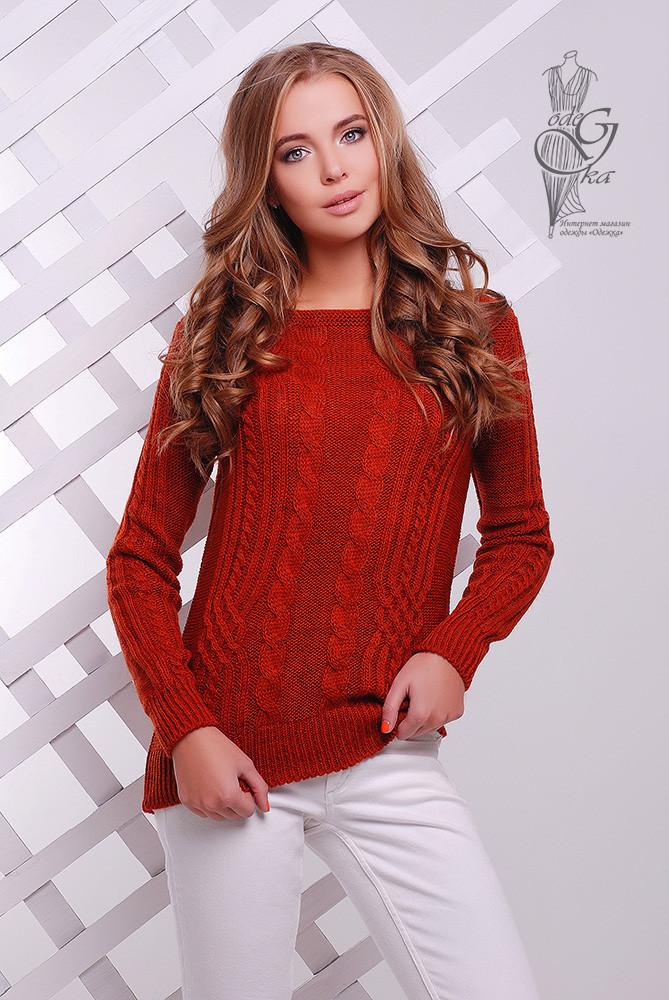 Женский свитер из шерсти и акрила Адель-9