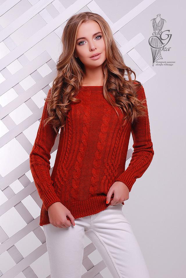 Фото Женского свитера из шерсти и акрила Адель-9