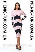 Женское платье Зоряна А4 новинка, повседневное, красивое  размеров 44, 46, 48, 50, 52, 54,56 оптом и в розницу