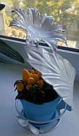 "Подставка для цветов ""Цветок на 1 чашу"""