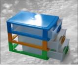 Комод мини Радуга 26 х 19 х 20 см.3 секции., фото 3