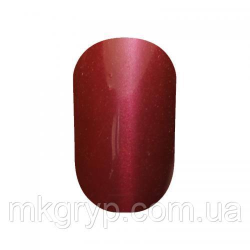 Гель-лак для  ногтей  SALON PROFESSIONAL (CША)№ 19мл.Цвет - темно-бордовый эмаль.