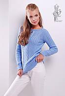 Женский свитер из шерсти и акрила Адель-10