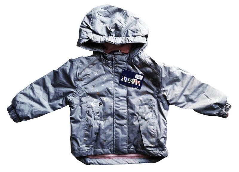 Куртка  для девочки, Lupilu, размер 86/92, арт. Л-417