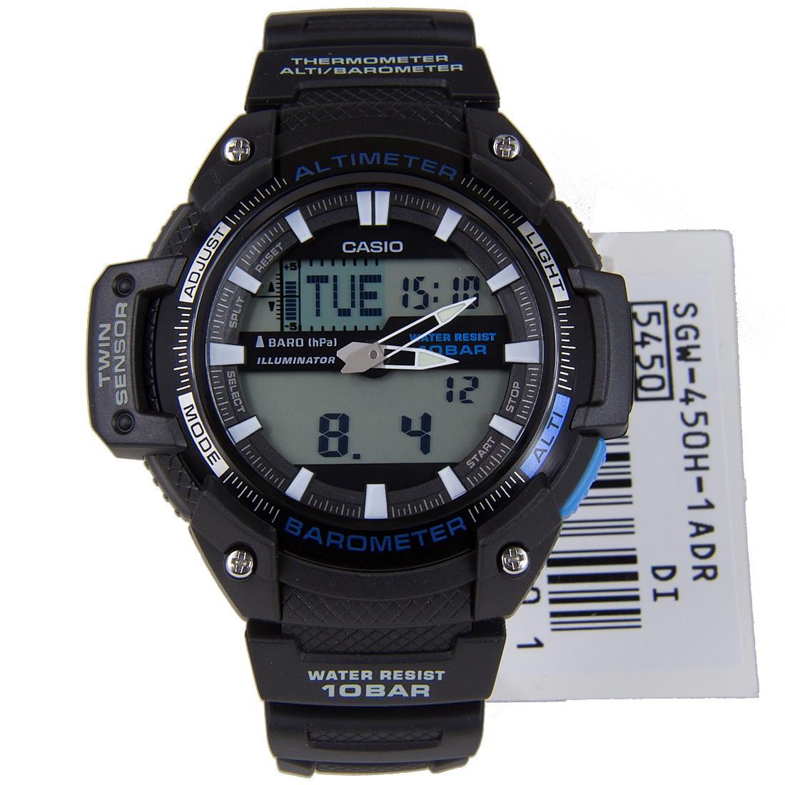 Часы Casio SGW-450H-1A L