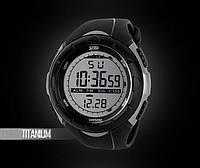 Часы мужские спортивные в стиле SKMEI titanium