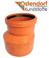 Редукция для наружной канализации Ostendorf KG ПВХ Ø 160/110