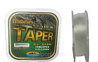 Шок-лидер конусный Leader TAPER 0,33-0,55мм, 15m*5pcs, купить