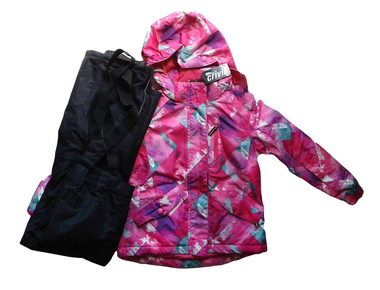 Комбинезон с курткой для девочки, Lupilu, размер 122/128,  арт. Л-429