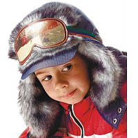 DemboHouse. Зимова шапка для хлопчика Марсель синій 48 dfb13e9fb0b62