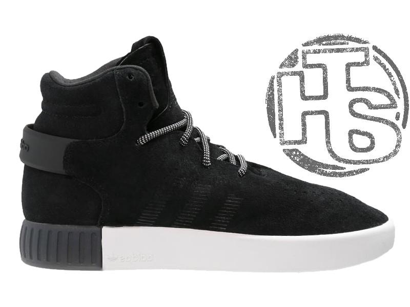 c73106e4ed6b7d Мужские кроссовки Adidas Originals Tubular Invader Black White S81797
