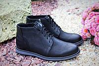 Зимние мужские ботинки Faber 167017/1 натуральная кожа цигейка, фото 1