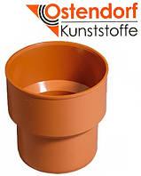 Переход с чугуна на пластик для наружной канализации Ostendorf KG ПВХ Ø 110