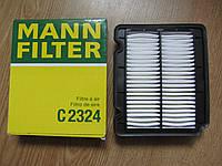 Воздушный фильтр на Chevrolet Aveo (пр-во Mann Filter)