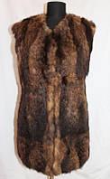 Жилетка из натурального меха Ламы меховые изделия