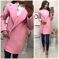 Женское пальто из кашемира  0073 (цвета)