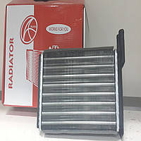 Радиатор отопителя (печки) 2108 2109 21099 2113 2114 2115 Таврия 1102 1103 1105 алюминиевывй Aurora