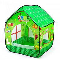 """Детская игровая палатка """"Магазин"""" № A999-168, 82х90х106  см."""