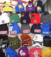 Модная детская шапка подросток