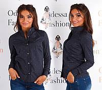 Рубашка женская (цвета) СЕР154