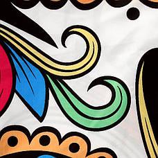 Пляжное покрывало с рисунком Белый череп 2020 трендовый пляжный коврик подстилка на пляж 150*120, фото 3
