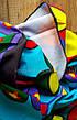 Пляжное коврик с рисунком Синий череп 150*120, фото 3