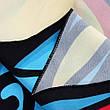 Пляжное покрывало в виде синего черепа Трендовый яркий пляжный коврик подстилка лёгкая 148*148, фото 2