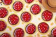 Пляжная подстилка коврик пицца лёгкое тонкое Пляжное покрывало в виде пиццы 148*148, фото 2