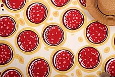 Пляжное покрывало в виде пиццы 148*148, фото 2