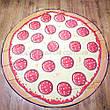 Пляжная подстилка коврик пицца лёгкое тонкое Пляжное покрывало в виде пиццы 148*148, фото 5