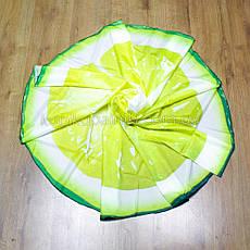Пляжный коврик подстилка Лимон яркое лёгкое воздушное Пляжное покрывало в виде лимона 148*148, фото 3