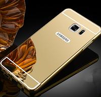 Чехол-бампер с зеркальной задней крышкой для Samsung A5 (2016) 510F
