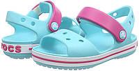 Крокс босоножки детские оригинал Crocs Unisex Crocband Kids Sandals