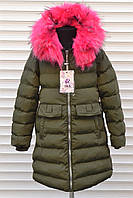 Зимнее пальто для девочек,Размер 8-16,Фирма S&D,Венгрия