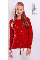 Вязаный женский свитер Вильнюс-4