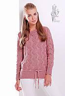 Вязаный женский свитер Вильнюс-6