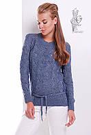 Вязаный женский свитер Вильнюс-7