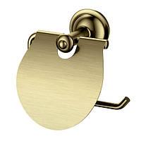 Тримач для туалетного паперу Welle D50062HO бронза