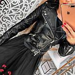 Женская невероятно модная черная КОСУХА , фото 7