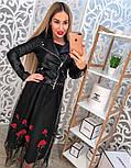 Женская невероятно модная черная КОСУХА , фото 9
